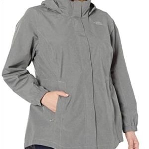 The North Face plus size lightweight parka